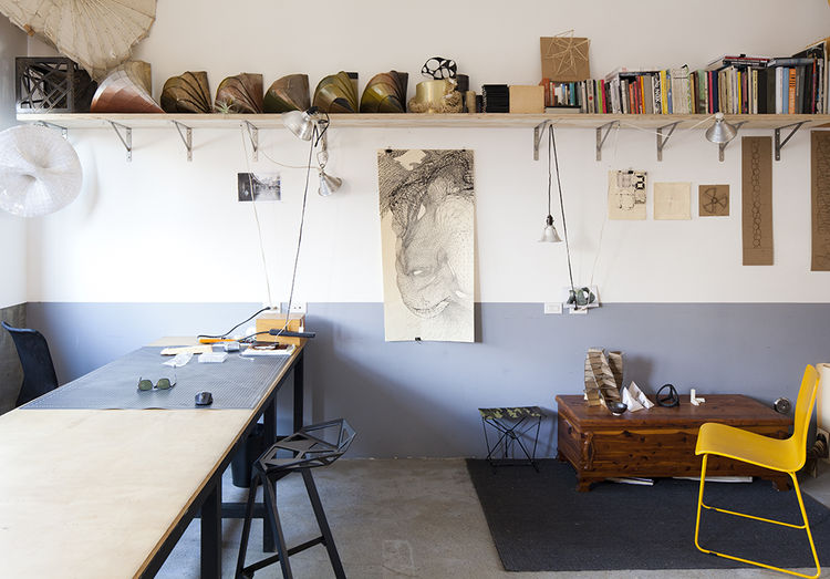 Modern artist studio and creative lab in San Diego