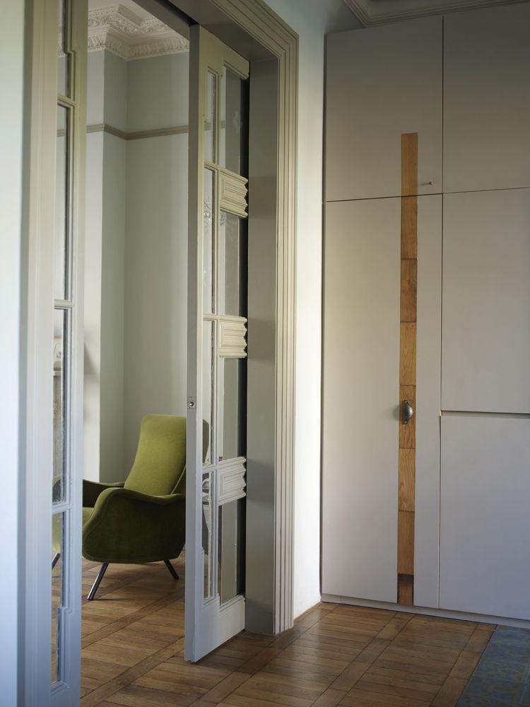 London Terrace home doorways