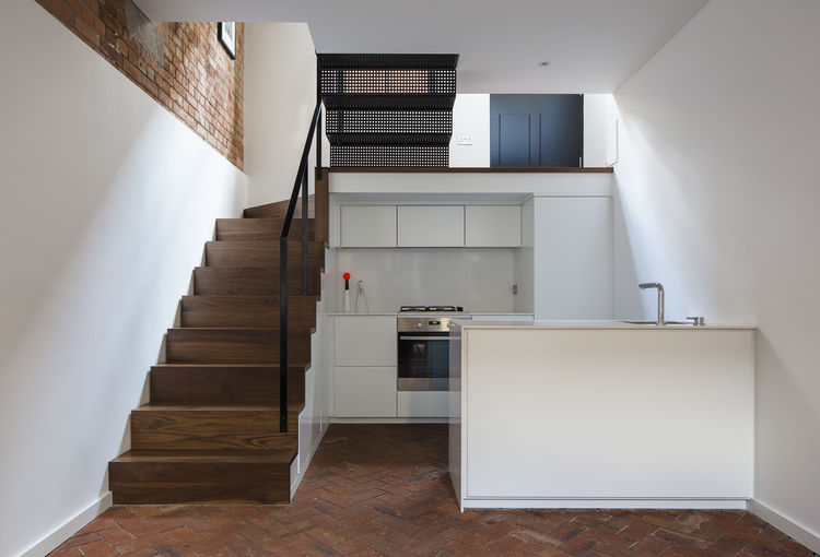 London Terraced Home Kitchen