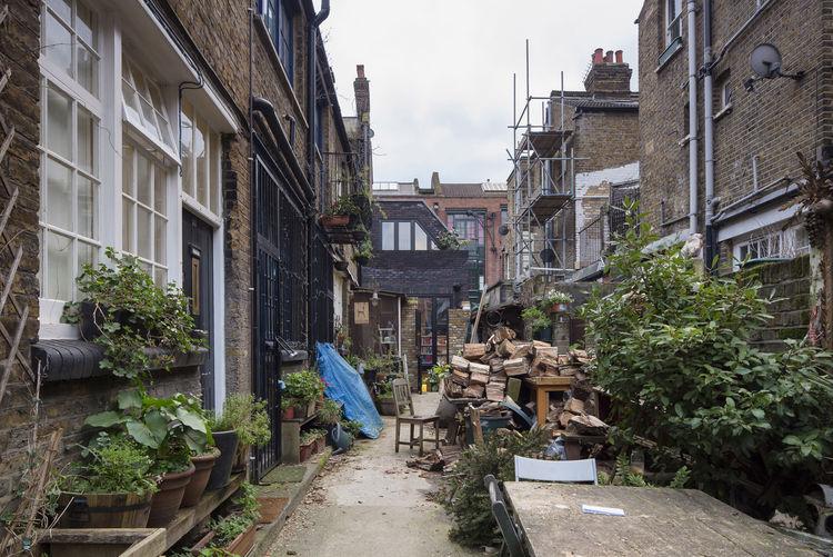 London Terraced Home Rear Courtyard