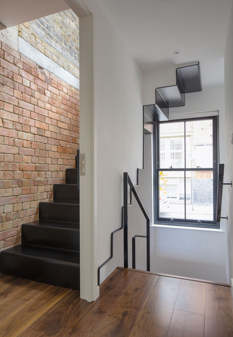 London Terraced Home Stairs