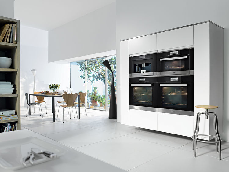 modern kitchen appliances like the generation 6000 pureline by miele
