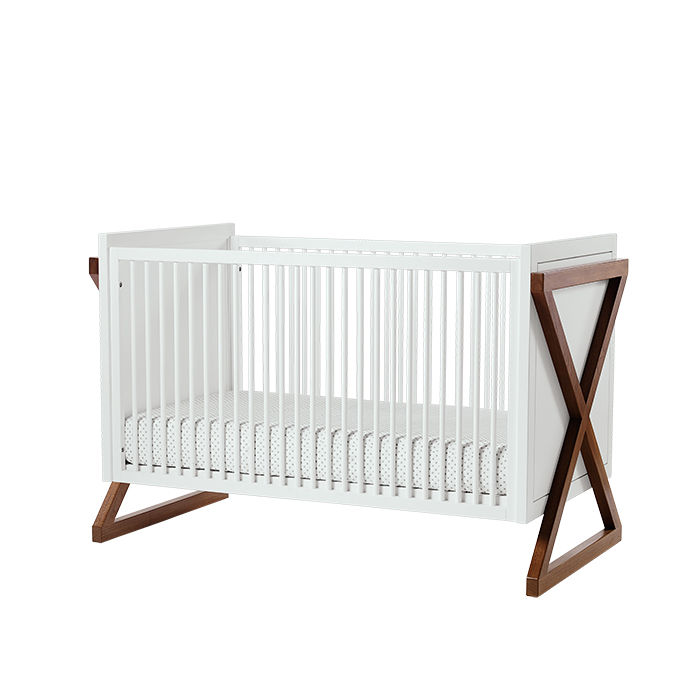 Modern Made in the USA America products like the Campaign Crib by ducduc from Connecticut