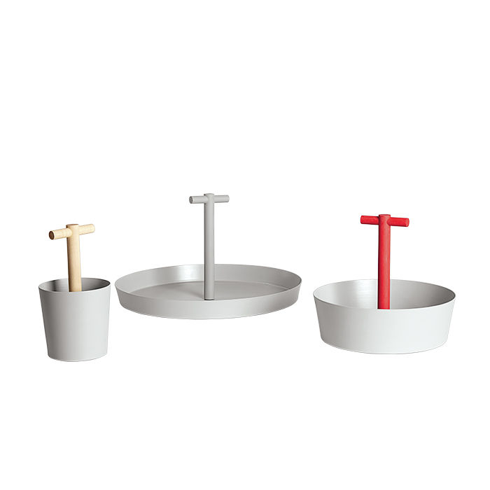 Modern Made in the USA America products like General bucket, bowl, and tray from Good Thing from New York