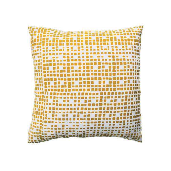 Modern Made in the USA America products like the Grid Pillow by Rangemark Textiles from Tennessee
