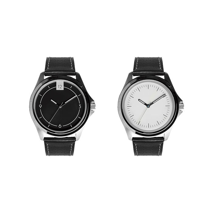 Made in America 2015 regional incubators like Michigan based Canvas Watch Company with their black dial and white watches