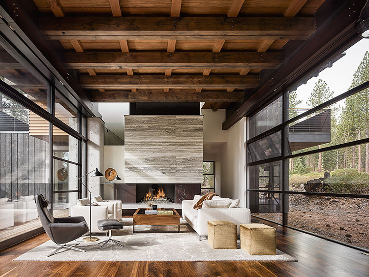 Martis Camp 141 in Truckee California Living Area