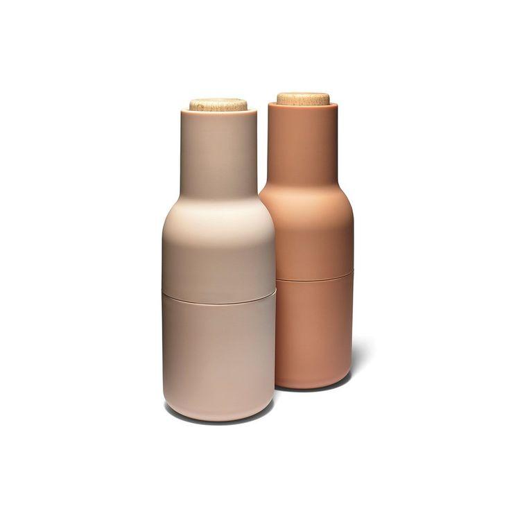 Innovative grinders shaped like bottles