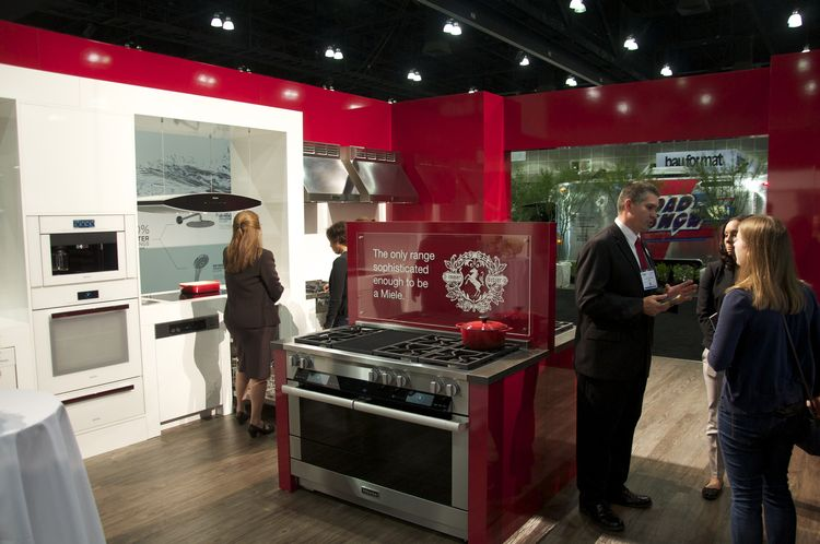 Miele booth at Dwell on Design LA