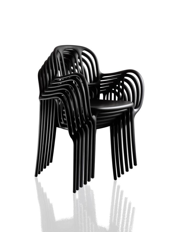 Plastic Milà chair by Jaime Hayón for Magis