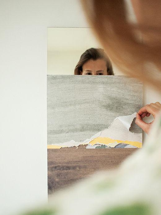 Mirror Unknown by Ingrid Hulskamp exhibited at Salone Satellite 2015