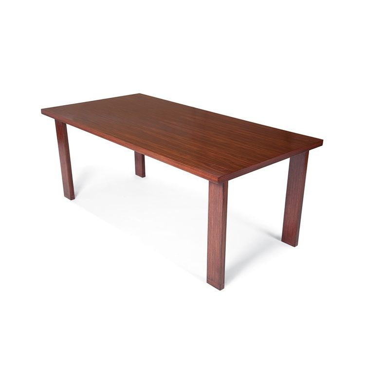 Simple 8-foot rosewood dining table