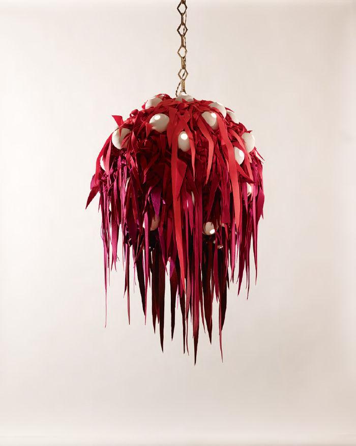 modern fabric textile kvadrat Milan Salone Lindsey Adelman