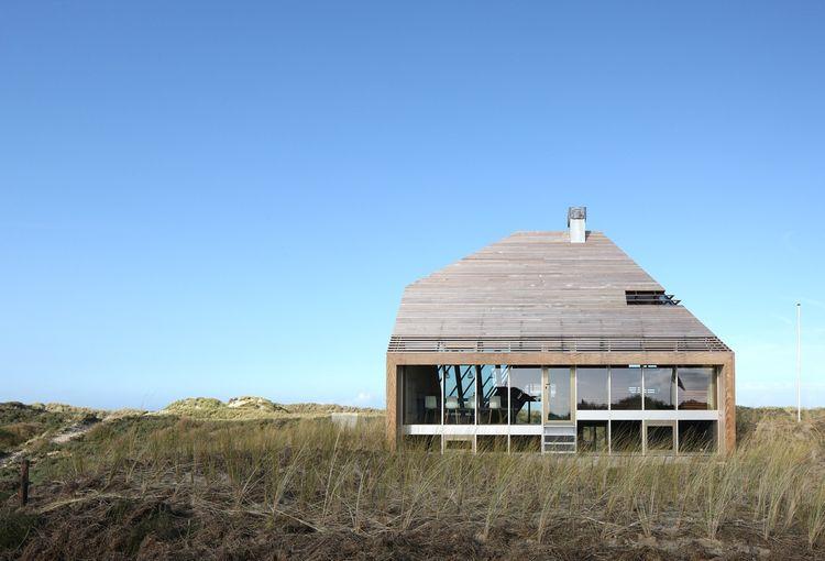 Netherlands dune house exterior facade