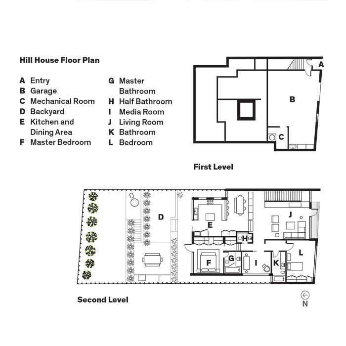 Hill House Floor Plan