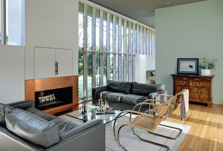 modern vanguard way  living room laminated lumber window
