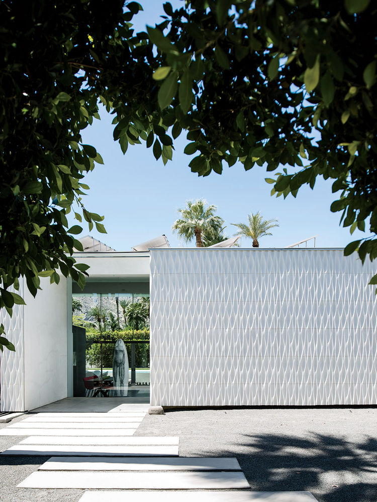 Desert Canopy House exterior clad in Configur8 tiles