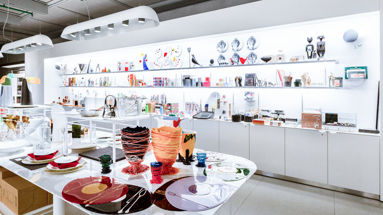 Products featured in the Pompidou Center's newly relaunched design store.