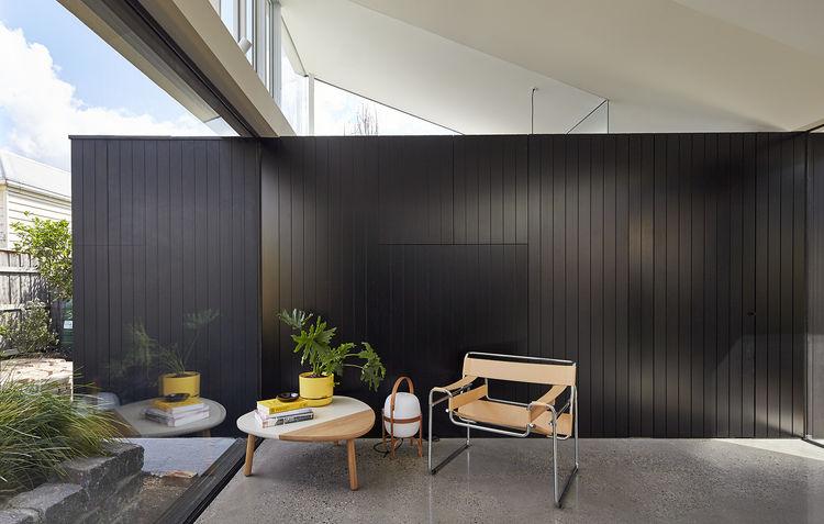 Marcel Breuer Club Chair Model B3 in modern Australian home addition.