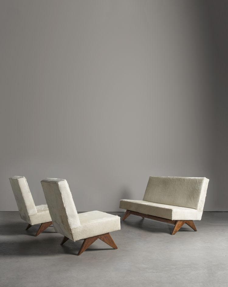Lounge suite by Pierre Jeanneret