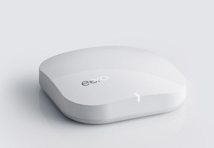 Modern router and range extender Eero