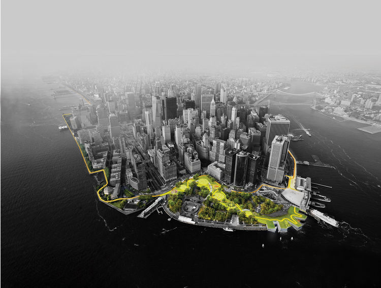 The Big U by BIG (Bjarke Ingels Group)