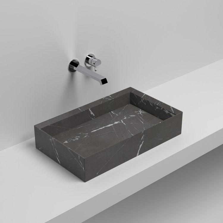 Rettangolo Appoggio basin by Giorgio Silla for Sign