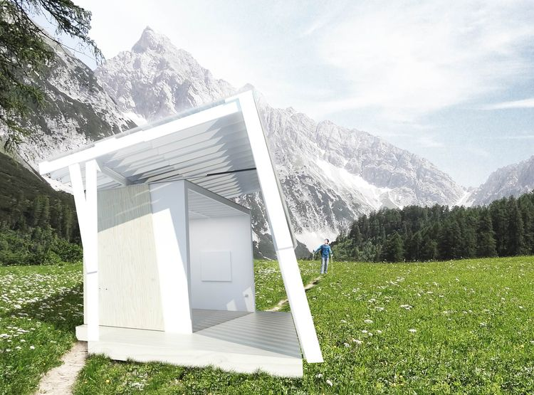 Model Art Pavilion by Gluckman Tang