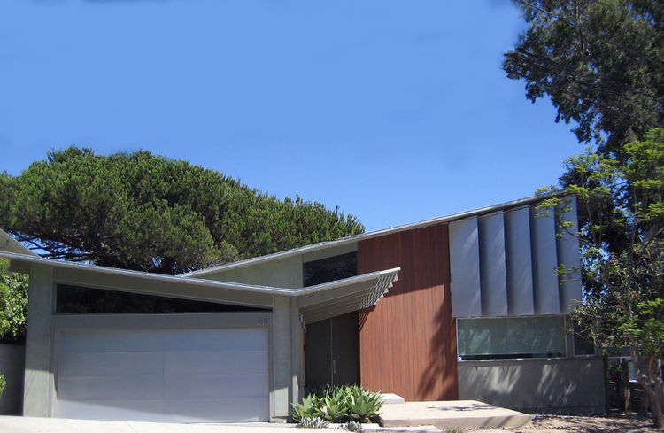 Los Angeles Ranch House exterior facade