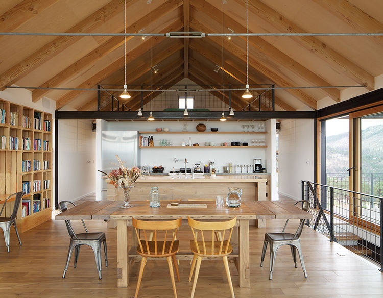 modern fire resistant green boulder kitchen pendants black walnut dining table