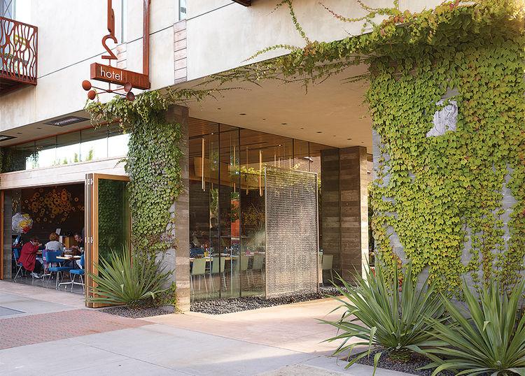 Romancing the Stone Andrea Cochran landscape architect H2hotel Healdsburg, California