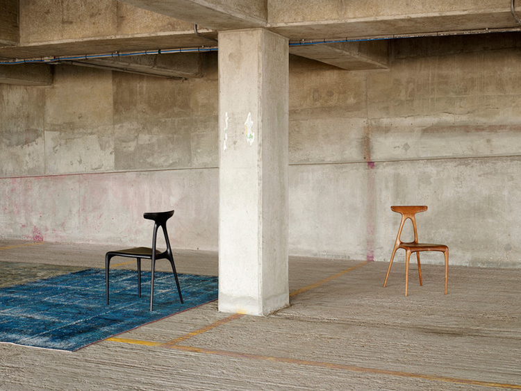 Alpha wood chair by Brodie Neill