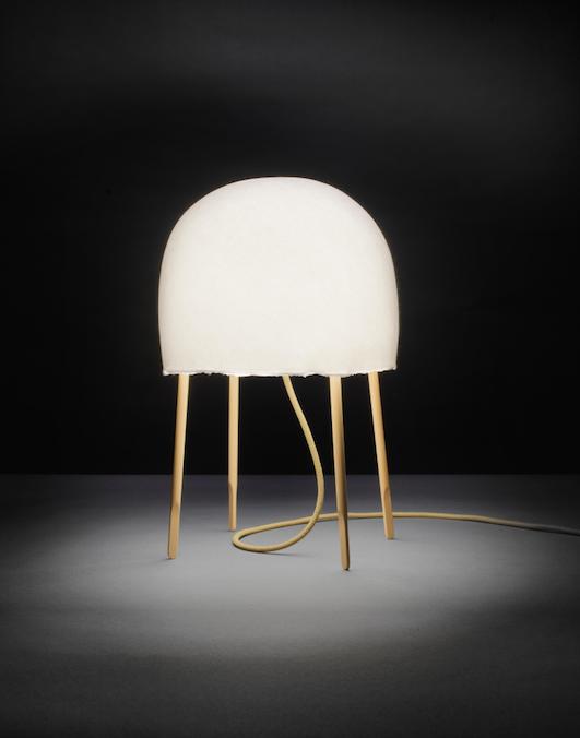 Washi paper lamp by Nendo and Luca Nichetto for Foscarini