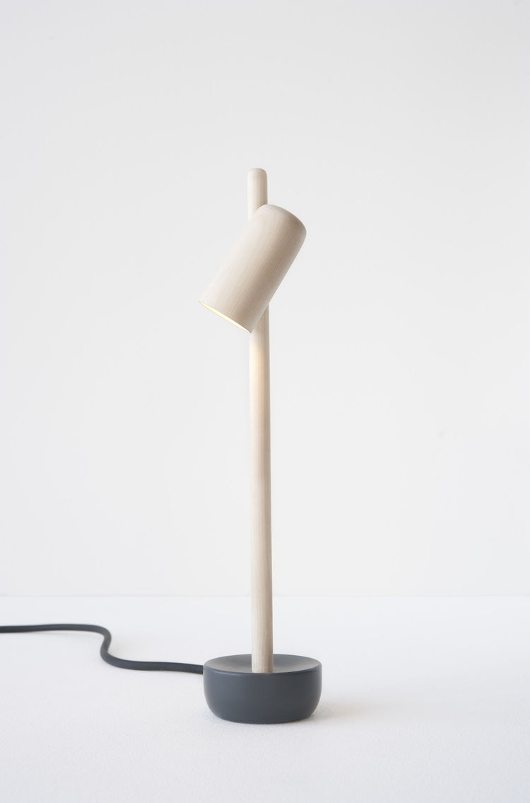 Petiole Lamp by Andreas Bergsaker exhibited at Salone 2015