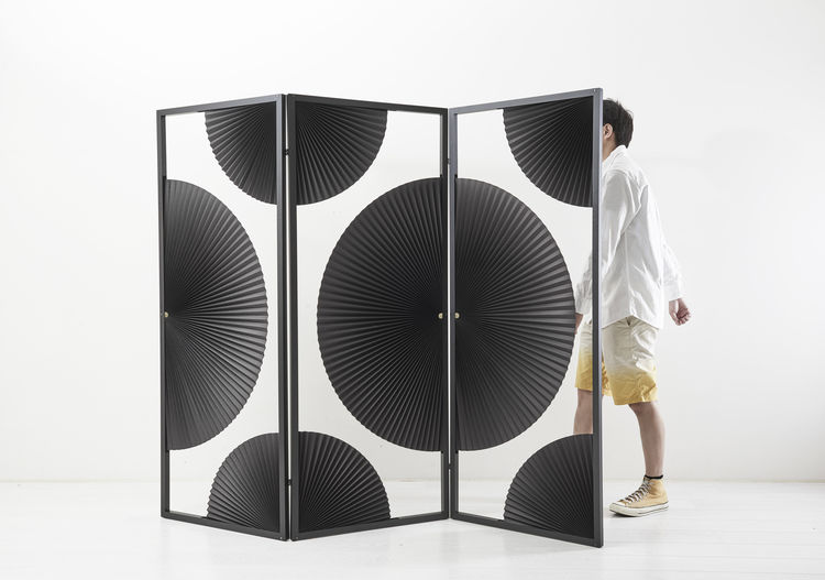 New Old Divider by KiMU Lab exhibited at Salone Satellite