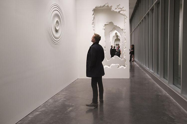 Daniel Arsham Installation at the SCAD Museum of Art