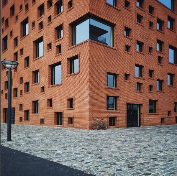 Brick building in Copenhagen