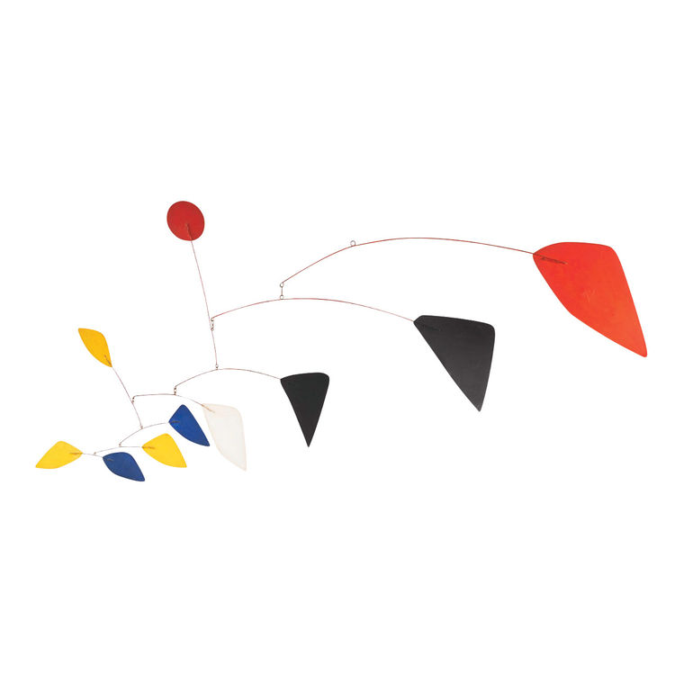 Kinetic Wire Sculpture by Alexander Calder