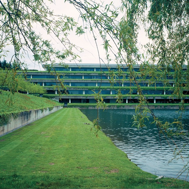 Weyerhaeuser Corporate Headquarters (1971) by Skidmore, Owings, Merrill in Federal Way, Washington