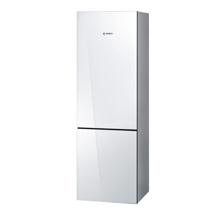 800 Series glass-door refrigerator by Bosch