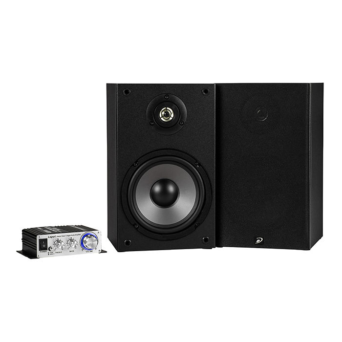 Lepai LP-2020A+ amplifer and Dayton Audio B652s speakers