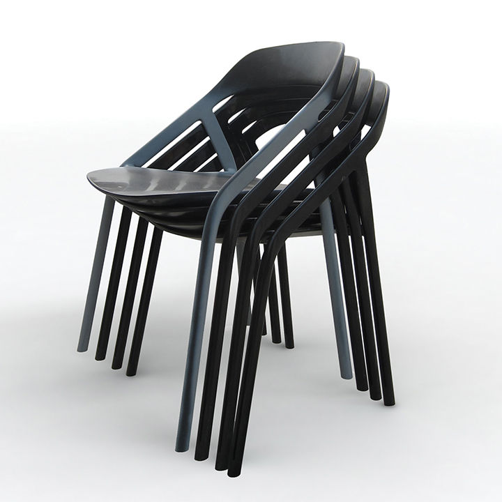 <5_MY chair by Michael Young for Coalesse with stackable, carbon-fiber frame