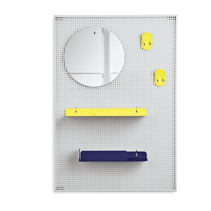 alfred shelf by roman pin and florent bouhey-fayolle for harto with mesh backing