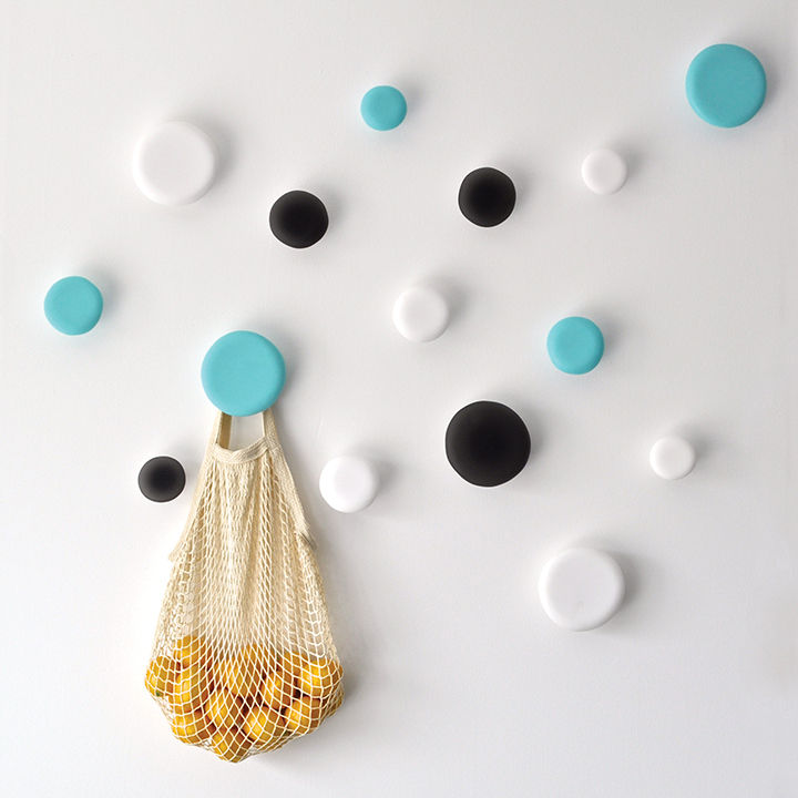 wall hooks by tina frey made of resin