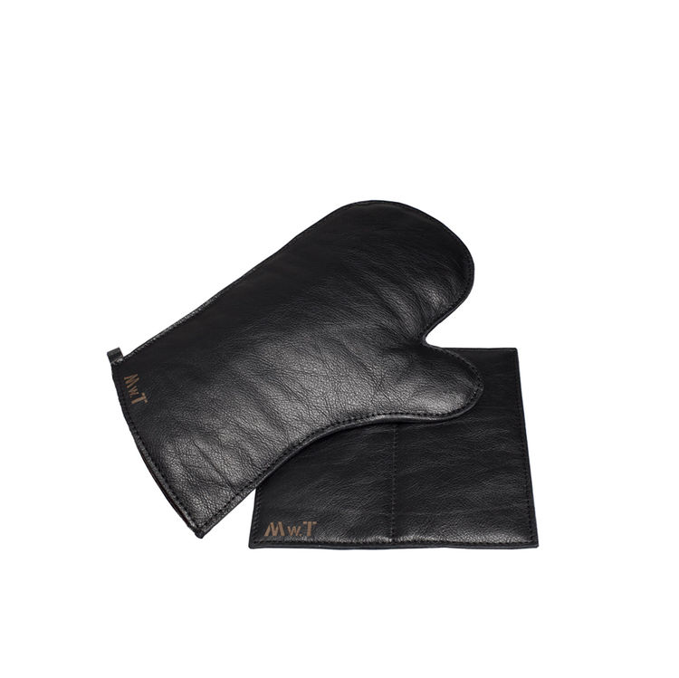 MWT Calf's Leather Glove and Potholder Set