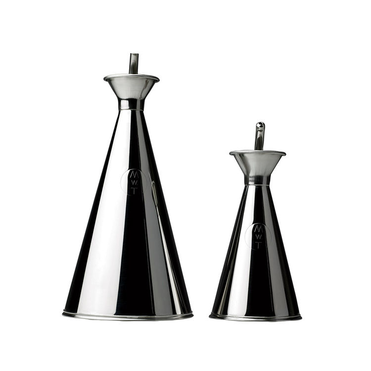 MWT Stainless Steel Oil and Vinegar Cruet Set