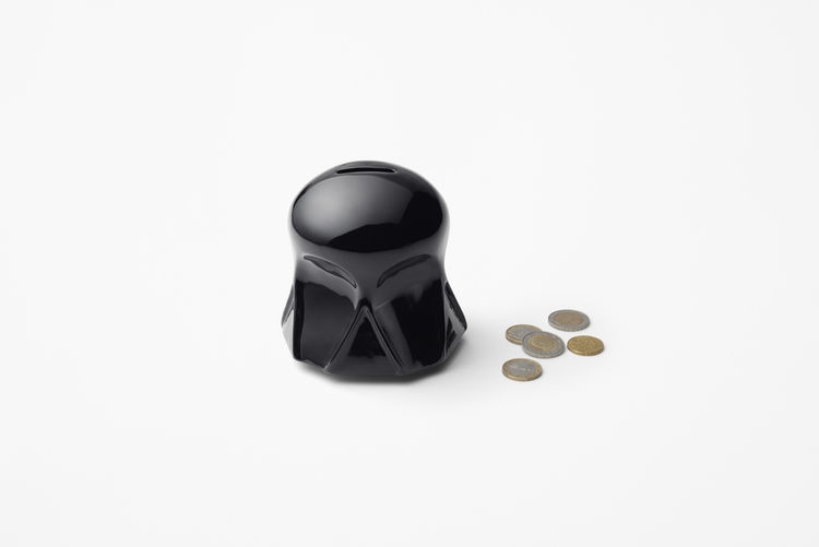 Darth Vader bank from the Nendo Star Wars collection