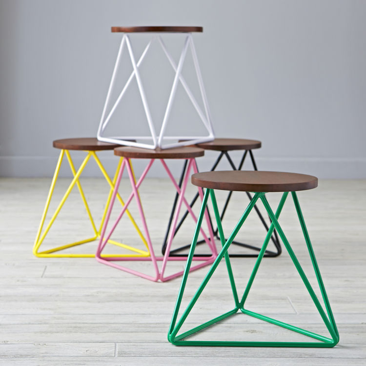 Linear Stool by Eric Trine for Land of Nod, $69