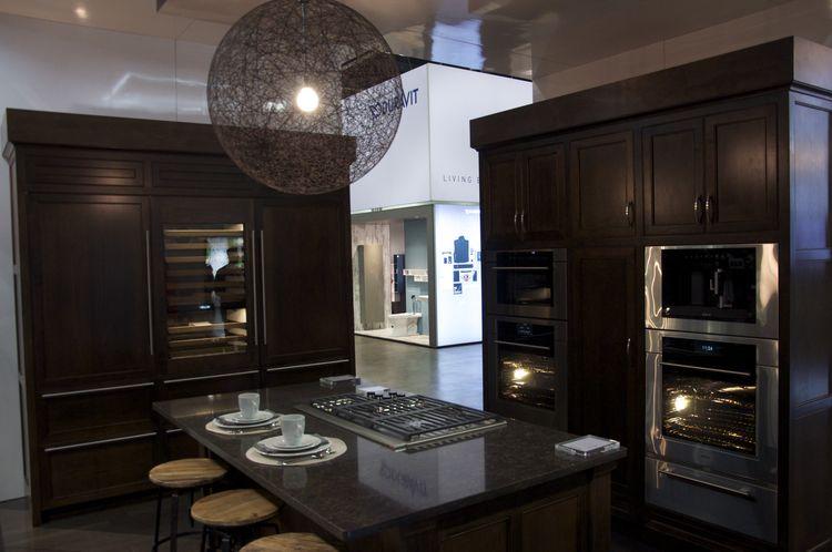 Sub-Zero kitchen at Dwell on Design
