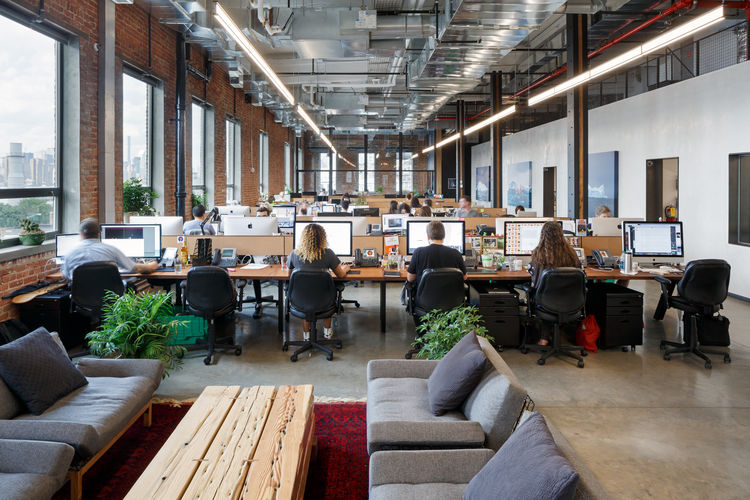 Vice Media headquarters designed by The Switzer Group.